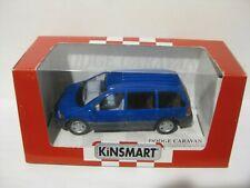 KINSMART Die Cast scale Collection Models Blue Dodge Caravan .