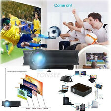 1080P UK40 HD LED Mini Home Theater Kinema Game Projector HDMI VGK USB Play