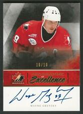 2010-11 UD The Cup WAYNE GRETZKY Programme of Excellence /10 PW-WG RARE