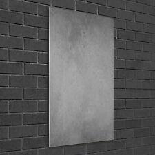 Wandbild Druck auf Plexiglas® Acryl Hochformat 50x100 Beton-Textur