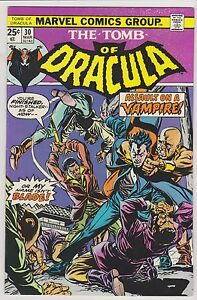Tomb of Dracula #30,  Near Mint Minus Condition