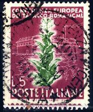 """ITALIA REP. - 1950 - Conferenza Europea del Tabacco - Tipo """"Bright Italia"""" - 5 L"""