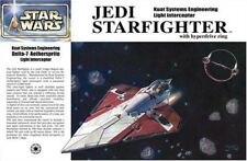 Fine Molds Jedi Starfighter with Hyperdrive Ring 1/72 Star Wars Ser No. Sw3 Jp