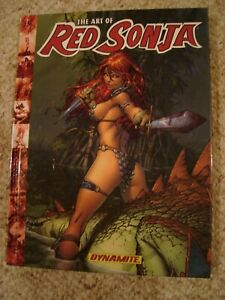Art of Red Sonja SIGNED Hughes Cho Horn Adams Mack Perez Texeira sketch & More