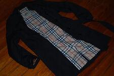 Women's Burberry Harbourne Black Trench Coat Jacket (8 Regular)