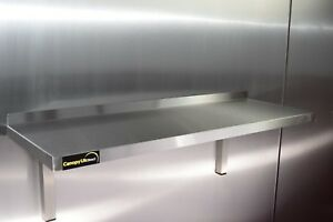 Stainless Steel Shelf 1200x350mm for Commercial Kitchens Workshops and Stores