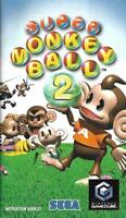 Super Monkey Ball 2 Instruction Booklet Sega Nintendo GameCube Manual ONLY