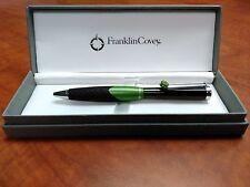 Franklin Covey Norwich Green Ballpoint Pen- Black Ink