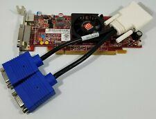 HP Dual Monitor AMD HD 4550 Windows 7 & 8 Video Card Dual VGA or DVI DMS-59