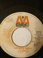"Leroy Brown & The Black Traps ‎– Life In The Ghetto - 7"" Vinyl Single 1975"