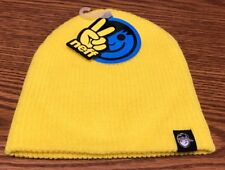 Neff Youth Yellow Warm Winter Beanie Hat Cap O/S NWT