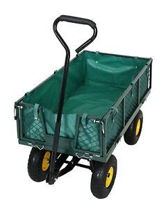 Gartenwagen Transportwagen Phil 350 KG Luftbereifung - Bollerwagen - Handwagen