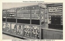 VTG POSTCARD ECKERDS DRUG STORE PHARMACY PRESCRIPTIONS  COLUMBIA SC UNUSED  A59