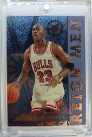 1995 95-96 STADIUM CLUB REIGN MEN Michael Jordan #RM2, Rare Insert Chicago BULLS