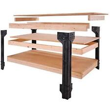 Workbench Table Kit DIY Shelf Storage Garage Organizer Assemble System