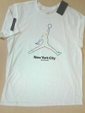 87b24c12 Nike Air Jordan Retro V 5 Toggle 801117-100 White Gold Men's T-shirt