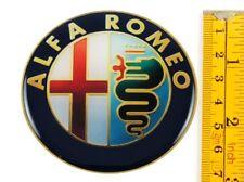 "ALFA ROMEO *4 x NEW* Emblems 70mm (2 3/4"") WHEEL CENTER CAP STICKERS 3D DECALS"