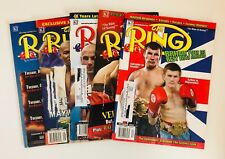 5 THE RING Bible Of Boxing Magazine Back Issues Andre De La Hoya Mayweather 2007