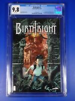 CGC Comic graded 9.8 Birthright  image #1 cover Key netflix movie 1st app rhodes
