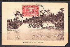Liberia # 134  on Postcard Cancelled Monrovia 18 JUL 1918 W/ Cockrill CP.18 CDS