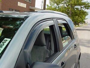 Chevy Equinox 2005-2009 Wind deflectors In-Channel