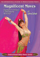 Magnificent Moves Zahra Zuhair - How to Belly Dance DVD Video - Bellydance