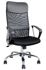 Black Mesh Fabric Home Office Computer Chair Swivel Tilt Ht Adjustment High Back