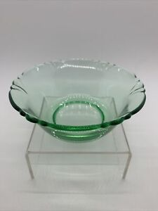 """Heisey Empress Moongleam Berry Bowl 4 1/2""""  #1401 ~Excellent Condition"""