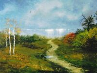 1.5x2 DOLLHOUSE MINIATURE PRINT OF PAINTING RYTA 1:12 SCALE landscape scenic art