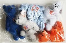 NIP complete set NOLAN RYAN EXPRESS Beanie Babies CAREER from REGGIEJACKSON.COM
