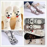 Women Cartoon Socks Dog Cat Animal Printed Cotton Casual Ankle Kawaii Cute Socks