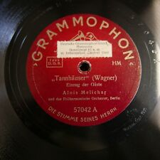 "12"" 78 rpm CHOR DER STAATSOPER BERLIN tannhauser pilgerchor / ALOIS MELICHAR"