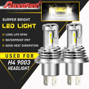 H4 9003 HB2 LED Headlight Conversion Kit High Low Beam Bulb Globe 6500K 270000LM