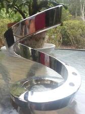 International Design Spiral Candle Holder By Dansk-Silverplate