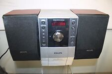 Philips MCM196D/37 Bookshelf Micro HiFi System MP3 CD Player Aux
