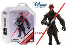 "Star Wars Disney Store Sith Lord Darth Maul Action Figure #16 Toybox 5"" NEW"