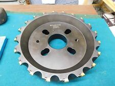 """Ingersoll 10.0"""" Insert Fly Mill # 6X4B10R01 with 20 New Inserts"""