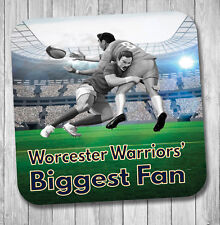 Worcester Warriors Fan Rugby Coaster Birthday / Christmas Gift / Stocking Filler