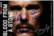 ETHAN HAWKE GORDON CLAPP ANN DOWD + 3 signed BLOOD FROM A STONE playbill