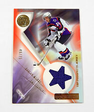 2001-02 UD Prospects Jerseys Gold Duncan Milroy Jersey Relic #'d 49/75