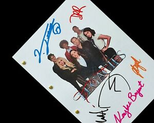 Legacies TV Script Pilot Signatures Autographs Reprint TVD Originals Mikaelson