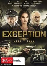 The Exception : NEW DVD