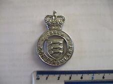 Obsolete Essex  cap badge,  Q.C., white metal.