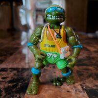 Vintage 1992 TMNT Teenage Mutant Ninja Turtles Lifeguard Leo Action Figure