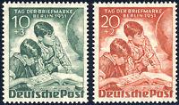 BERLIN 1951, MiNr. 80-81, tadellos postfrisch, gepr. Schlegel, Mi. 55,-