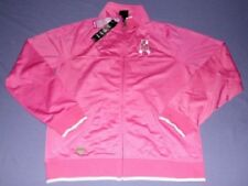 Pittsburgh Steelers Pink Jacket Ladies Large Cancer Awareness Embroidered NFL