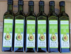 Case of 6 Bottles Primal Kitchen Avocado Oil   16.9 Fl oz each