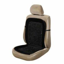 LavoHome Black Wooden Beaded Plush Velvet Seat Cover Premium Quality Ultra...