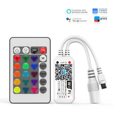 Mini WiFi Music Controller for RGB/RGBW 5050 LED Strip Light For Alexa Google