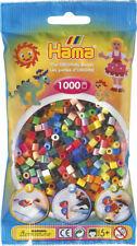 Hama 1000 Midi Bügelperlen 207-68 Mix 50 Farben Ø 5 mm Perlen Steckperlen Beads